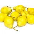 Stock Photo: Ripe yellow pear