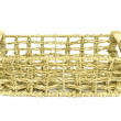 Stock Photo: Rectangular basket