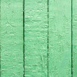 Green old wooden fence panels — Stock Photo #37344913