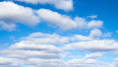 Sky with clouds — Stockfoto