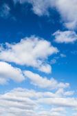 Sky with clouds — Stock Photo