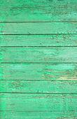 Alte grüne Holzzaun-Paneele — Stockfoto