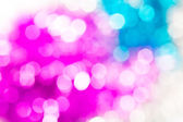 Pink ,white and blue bokeh background — Stock Photo
