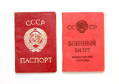 Documents USSR — Stock Photo