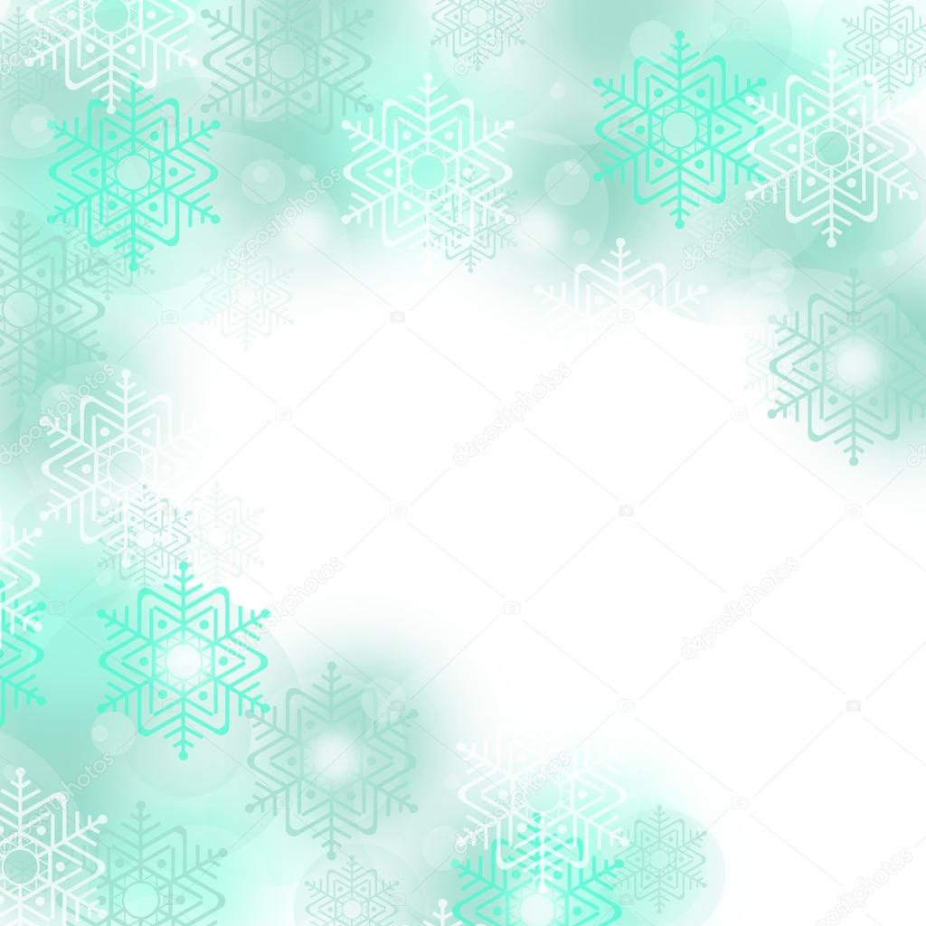 Christmas and winter background — Stock Photo #14207300