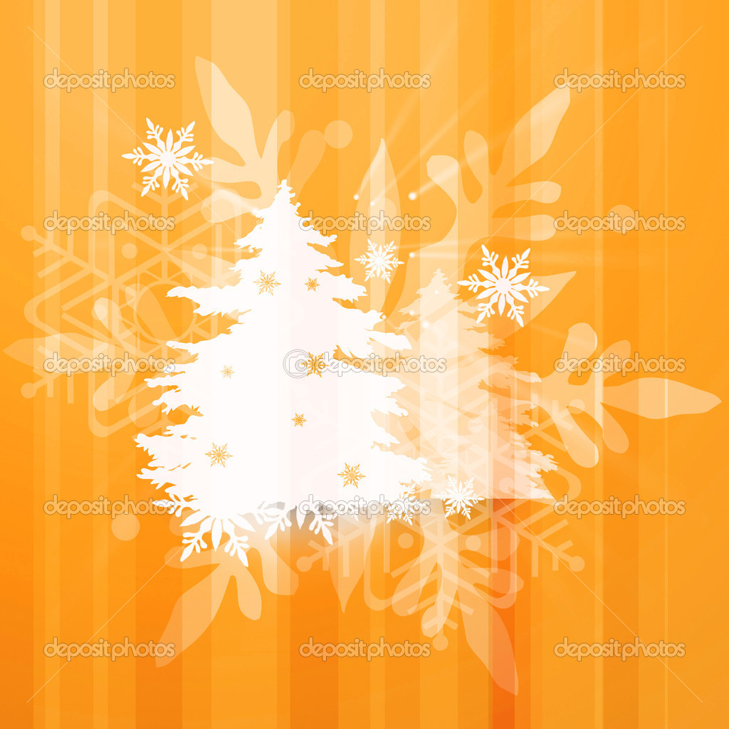 Christmas and winter background  Stock Photo #14207486