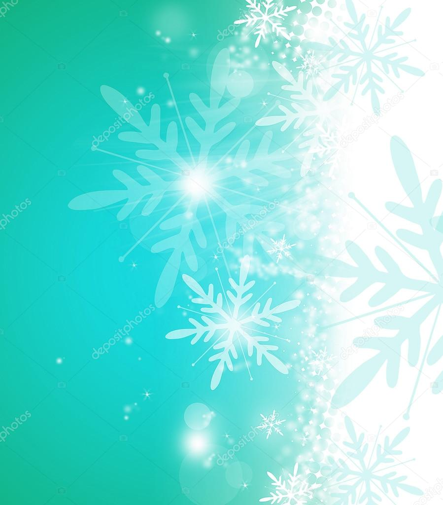 Christmas and winter background — Stock Photo #14207787