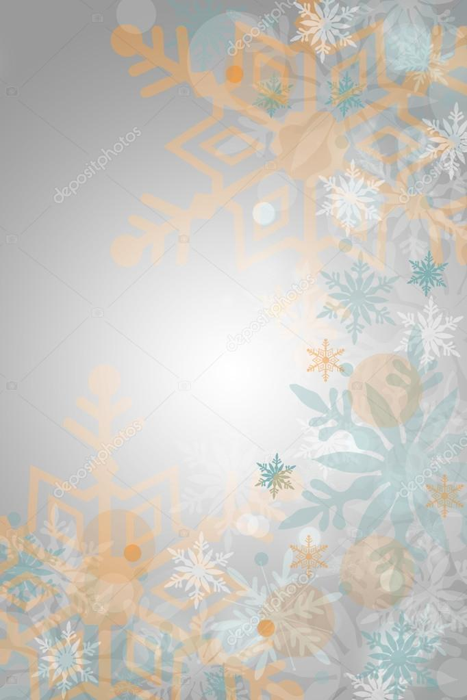 Christmas and winter background — Stock Photo #14208490