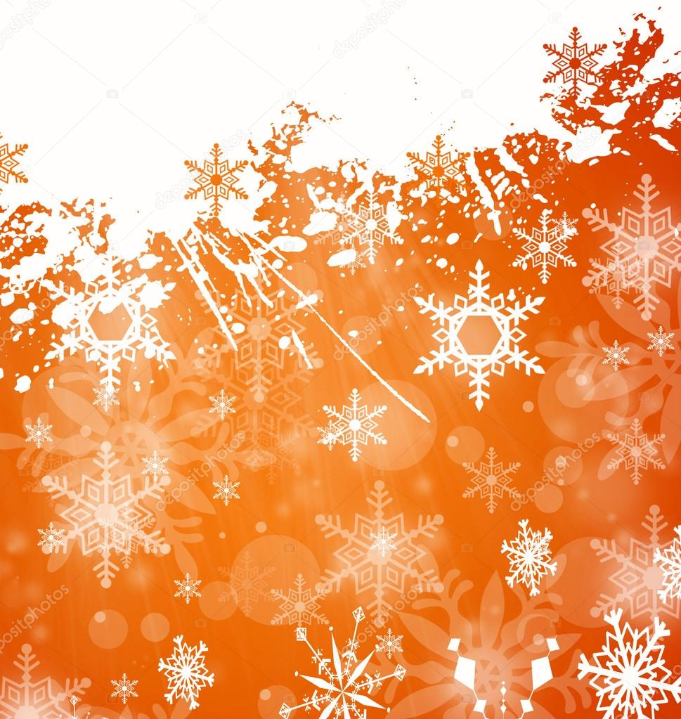 Christmas and winter background — Stock Photo #14208527