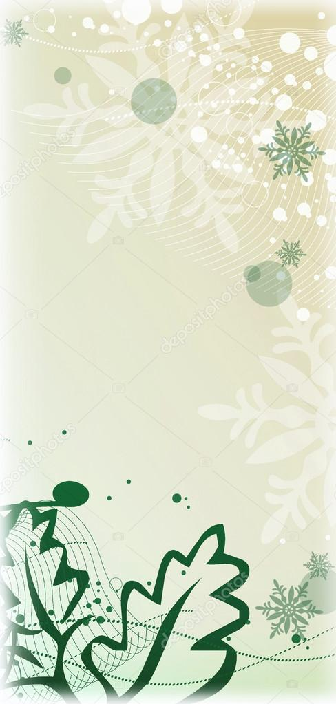 Christmas and winter background  Stock Photo #14208619