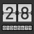 Vecteur: Countdown timer