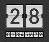 Countdown-timer — Stockvector