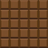 Texture transparente au chocolat — Vecteur
