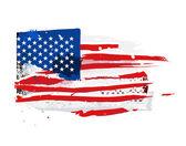 Flag of the USA — Vector de stock