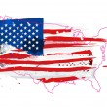 Flag of the USA — Stock Vector