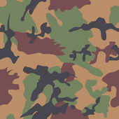Camouflage Seamless Pattern — Stock Vector