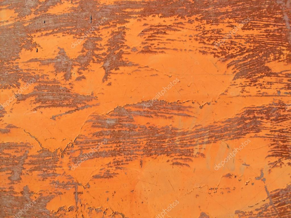 Texture of an old rusty metal surface with cracked paint — Stock Photo #21041841