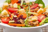 Fresh colorful healthy salad — Stock Photo