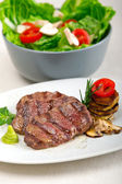 Grilled Kobe Miyazaky beef — Stock Photo