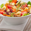 Fresh colorful healthy salad — Stock Photo