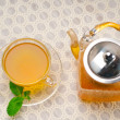 Fresh selection of tea — Stockfoto