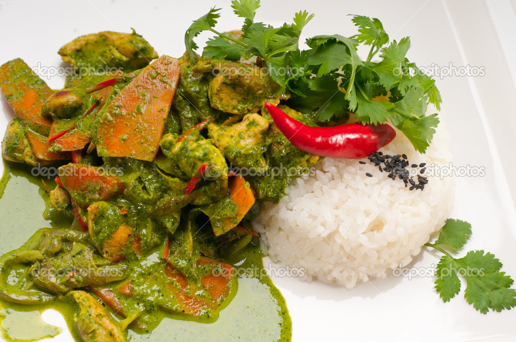 Chicken Curry With Vegetables Curry Fresh Vegetables And