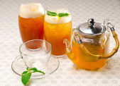 Fresh selection of tea — Stock Photo