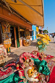 Venice Italy burano souvenir shop — Stock Photo