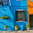 Italy Venice Burano island — Stock Photo #27010291