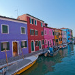 Italy Venice Burano island — Stock Photo #27011199