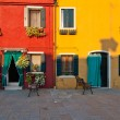 Italy Venice Burano island — Stock Photo #27013299