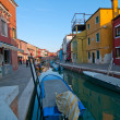 Italy Venice Burano island — Stock Photo #27014947