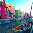 Italy Venice Burano island — Stock Photo