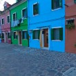 Italy Venice Burano island — Stock Photo #27015495