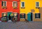 Italy Venice Burano island — Stock Photo