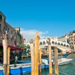Venice Italy Rialto bridge view — Stock Photo #27049939