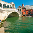 Venice Italy Rialto bridge view — Stock Photo #27050697