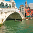 Venice Italy Rialto bridge view — Stock Photo #27051221