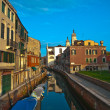 Venice Italy unusual pittoresque view — Stockfoto