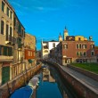 Venice Italy unusual pittoresque view — 图库照片