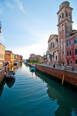Venice Italy unusual scenic view — Stock Photo