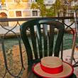 Venice Italy gondolier hat — Stock Photo #27082139