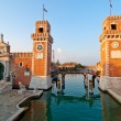 Venice Italy Arsenale  — Stock Photo