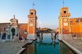 Venice Italy Arsenale — Stock Photo