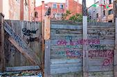 Porta antiga de veneza itália — Foto Stock
