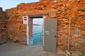 Venice Italy old door — Stock Photo