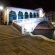 Venice Italy Rialto bridge view — Stock Photo #27279851