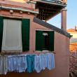 Venice Italy altana terrace — Stock Photo