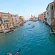 Venice Italy grand canal view — Stock Photo