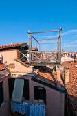 Venice Italy altana terrace — Stock Photo